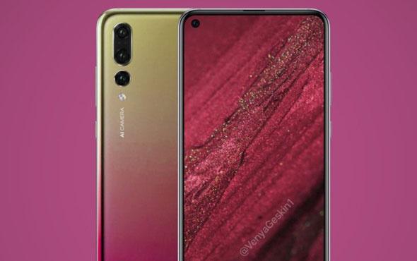Huawei Nova 4'ün görüntüleri ortaya çıktı