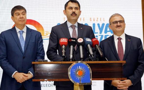 Bakan Murat Kurum 3. millet bahçesinin yerini açıkladı