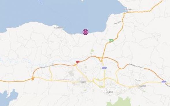 Son deprem Bursa'da! Büyüklüğü kaç oldu?