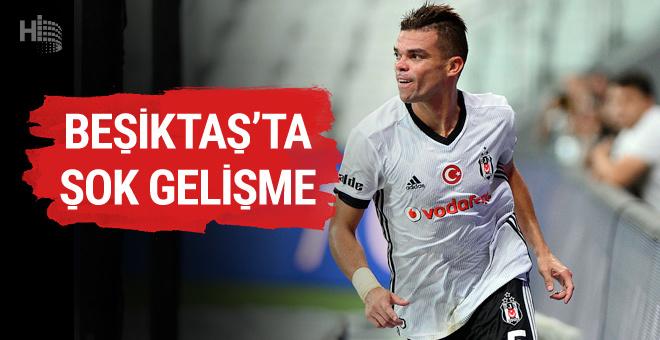 Beşiktaş Pepe ile yollarını resmen ayırdı