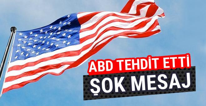 ABD Suriyeli muhalifleri açık açık tehdit etti