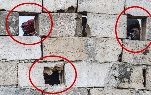 Elleri tetikte Türk askerini bekliyorlar! Fırat'ın doğusunda heyecan
