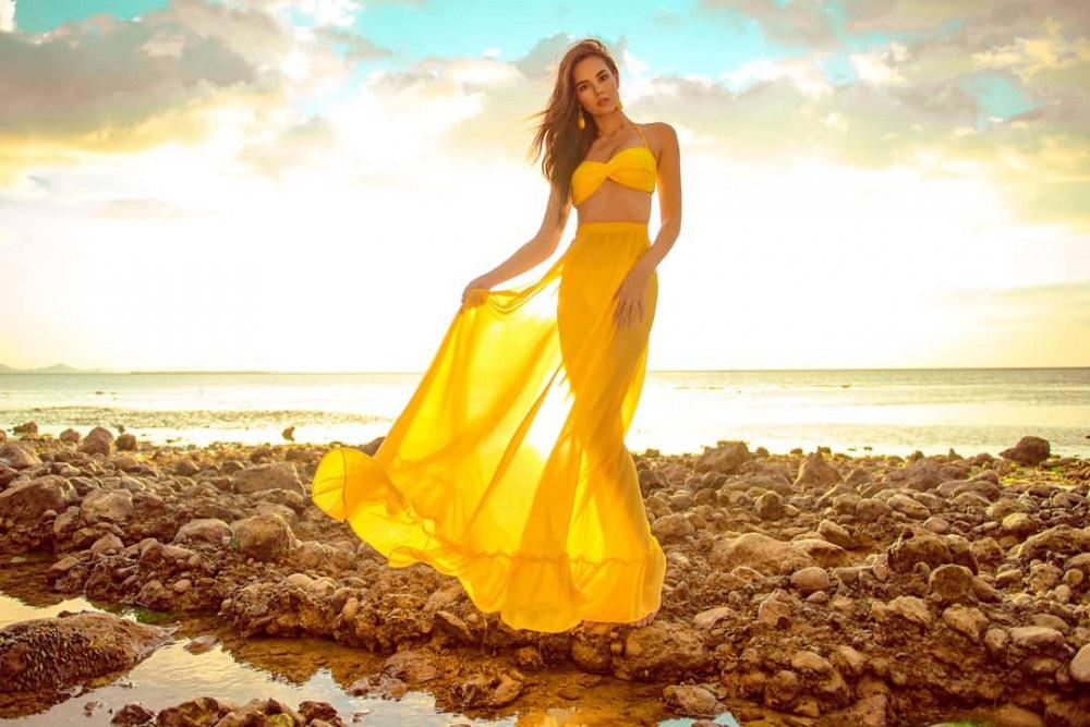Kainat güzeli Cristino Gray herkesi kendine hayran bıraktı