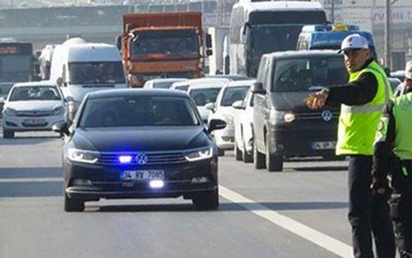 Erdoğan da uyarmıştı! İşte çakarlı araçlarla ilgili son durum