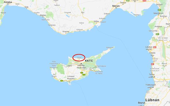 Son deprem Kıbrıs'ta! Büyüklüğü kaç oldu?