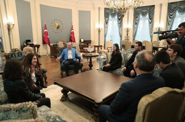 Erdoğan ile görüşen öğrenciler o anları anlattı!