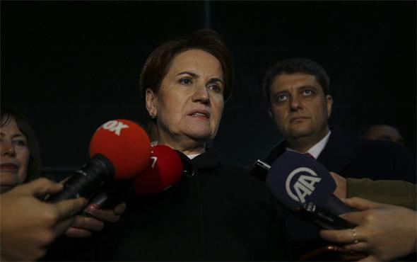 Meral Akşener'den Ankara adayı açıklaması