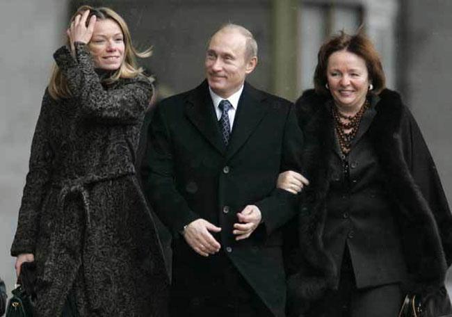Putin'in kızını boşadı manken sevgilisiyle evlendi! Yürek mi yedi?