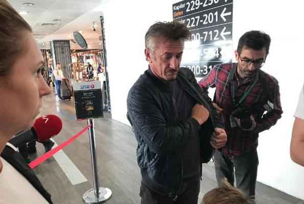 Kaçıkçı cinayeti için gelen Sean Penn Türkiye'den ayrıldı