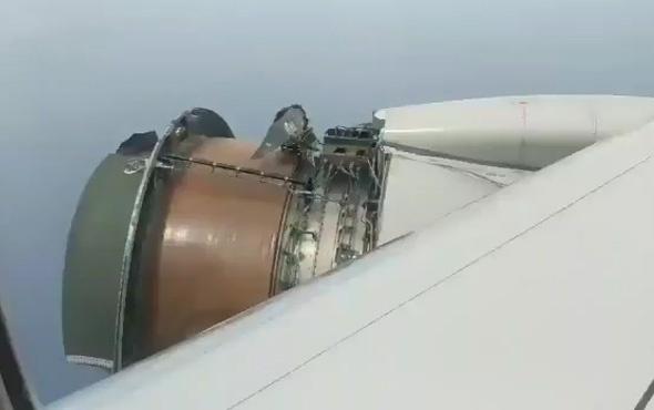 Uçakta dehşet anları! Bin anda parçalandı…