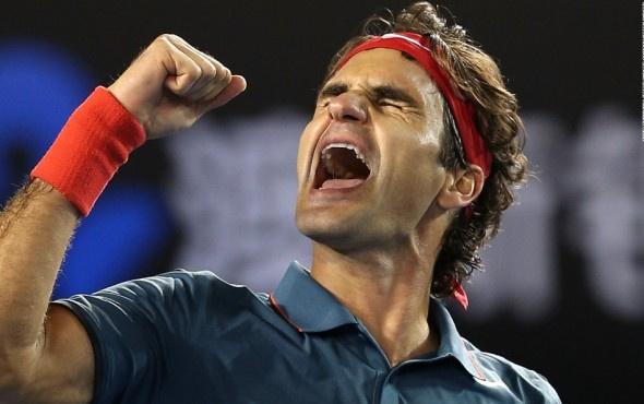 Federer zirveye rekorla çıktı