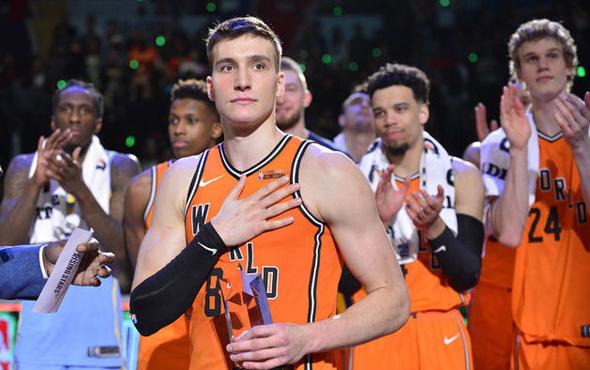 NBA All-Star'da Bogdanovic fırtınası