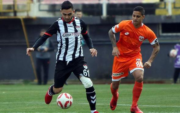 Adanaspor Manisa'dan mutlu döndü