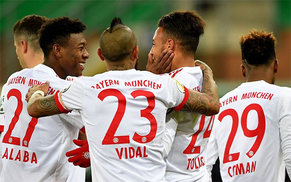 Bayern Münih uzatmalarda kazandı