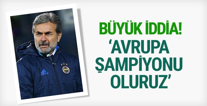 Aykut Kocaman'dan şampiyonluk için iddialı sözler!