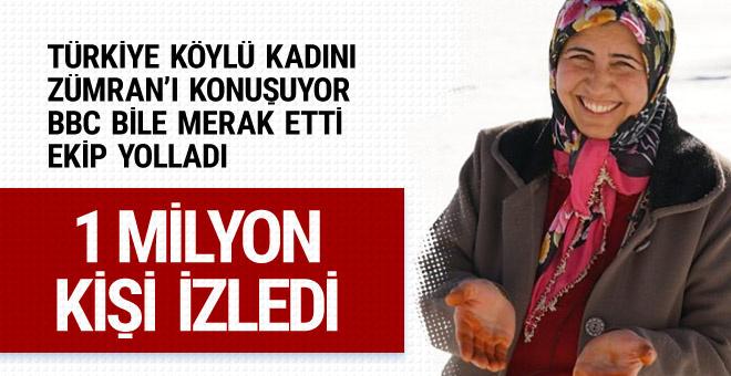Türkiye Kars'lı Zümran Ömür'ü konuşuyor 1 milyon izlendi!