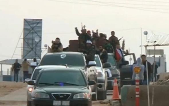 Suriye televizyonu: 'Türk güçleri Esed milislerini bombalıyor'