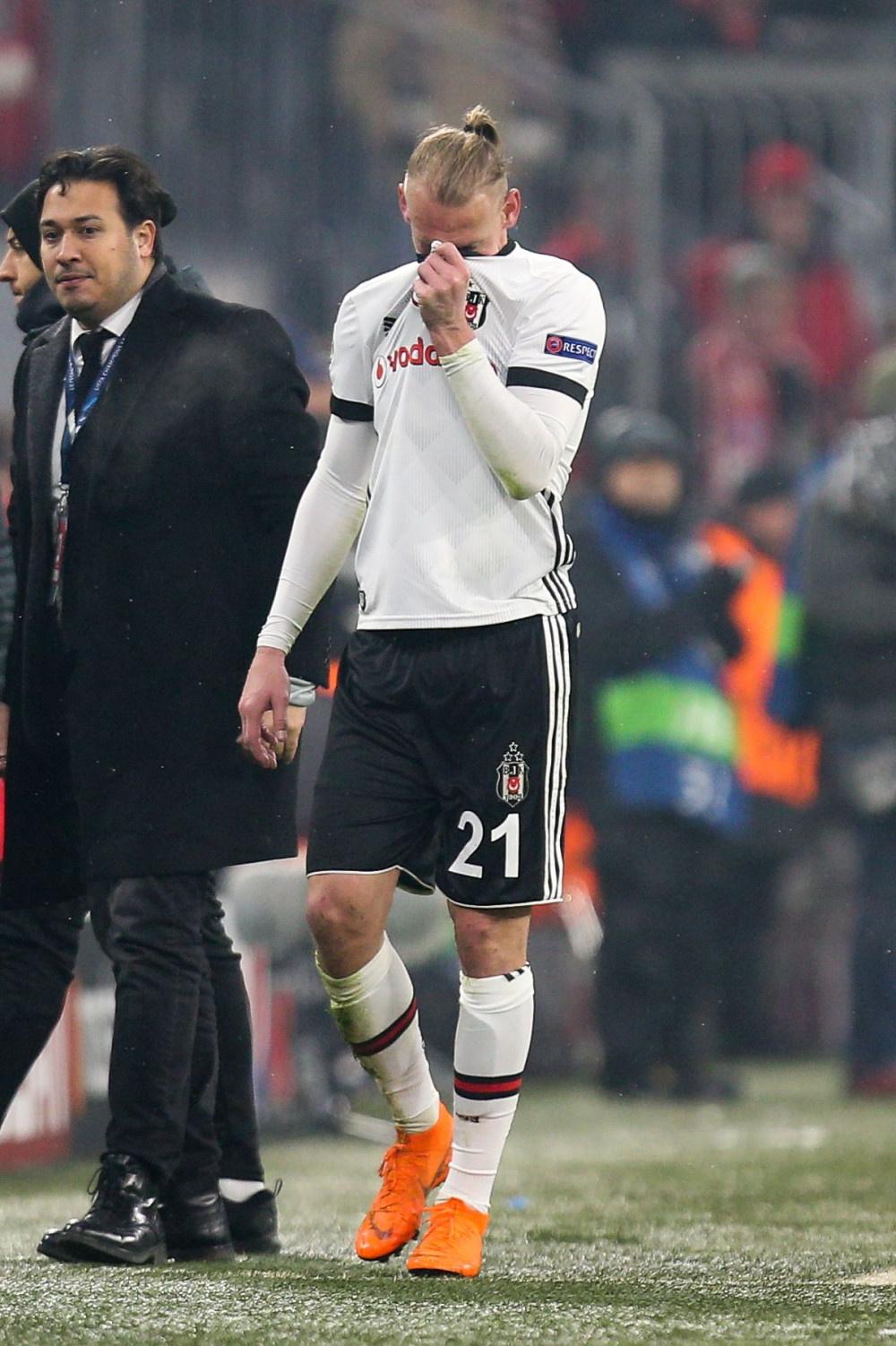 Bayern Münih-Beşiktaş maçı fotoğrafları