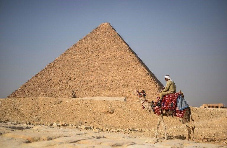 Giza Piramidi'nin sırrı çözüldü!