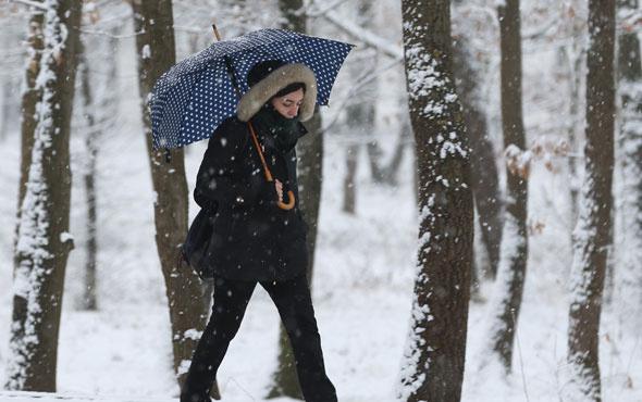 Ankara'yı kar soğuğu sardı son hava durumu nasıl?