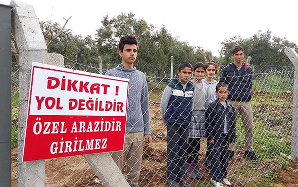 Çiftçiler tarlasına, öğrenciler okula gidemedi! Nedeni ise...