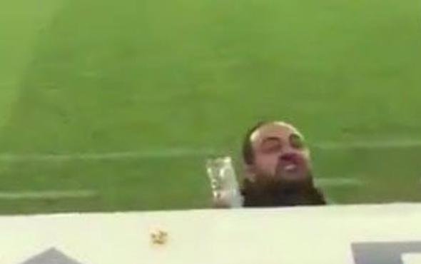 Hasan Şaş Sivasspor taraftarına küfretti