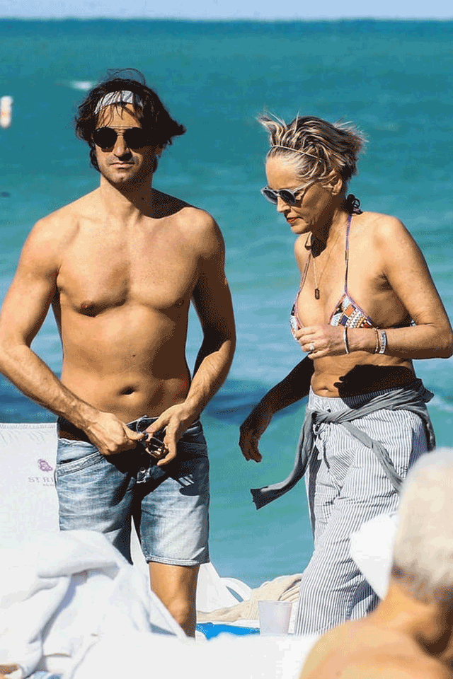 Sharon Stone'dan 60 yaş pozu son haline bakın