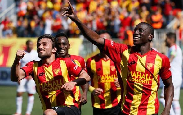 Göztepe-Antalyaspor maçının dakika dakika özeti
