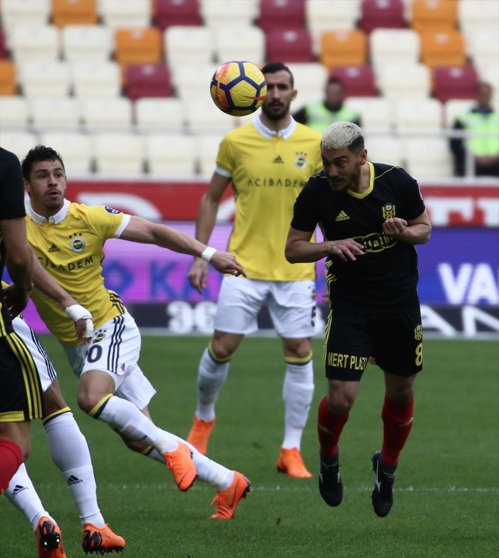 Yeni Malatyaspor Fenerbahçe maçı fotoğrafları