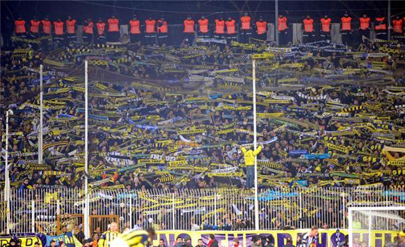 Fenerbahçe'nin derbi koreografisi internete düştü