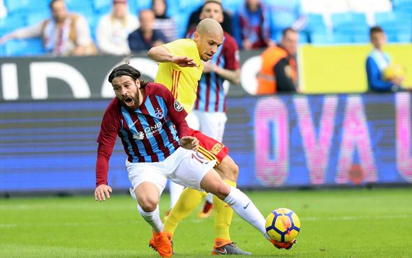 Trabzonspor - Yeni Malatyaspor maçı golleri ve geniş özeti