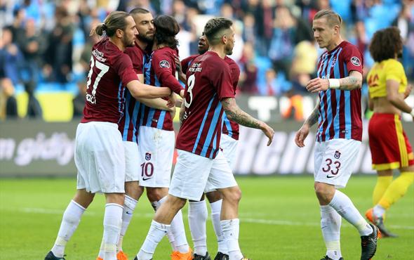 Trabzonspor - Yeni Malatyaspor maçı fotoğrafları