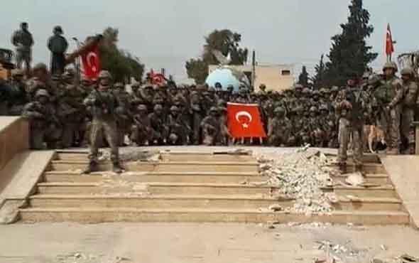 Afrin meydanında and için komando taburunun müthiş hikayesi