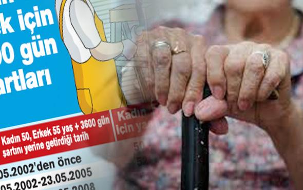 Ne zaman emekli olacaksınız işte işe giriş tarihine göre emeklilik tablosu