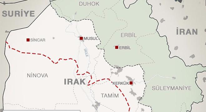 Sincar nerede Sincar'da kimler var neden önemli Sincar haritasına bakın!