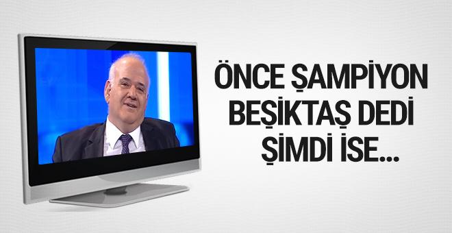 Ahmet Çakar şampiyonluk favorisini değiştirdi