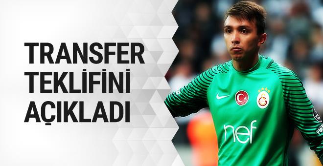 Fernando Muslera transfer teklifi aldığını açıkladı