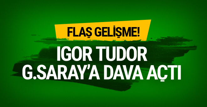 Mustafa Cengiz'den flaş açıklama! Tudor Galatasaray'a dava açtı
