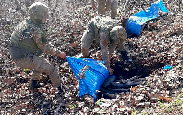 PKK'ya ağır darbe! 55 terörist öldürüldü Hulusi Akar da oaradaydı