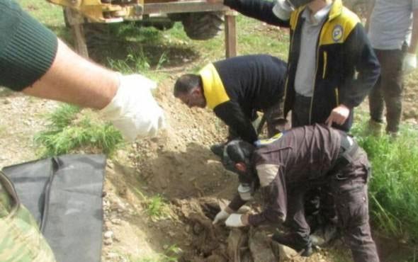 110 ÖSO askerinin mezarı ortaya çıktı