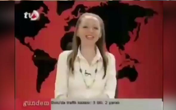 Canlı yayında gülme krizine giren spiker izlenme rekoru kırıyor