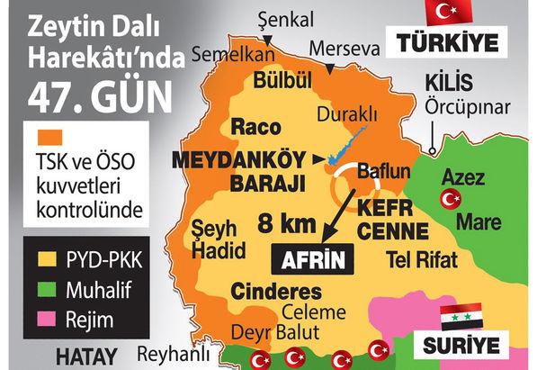 Afrin'de son durum ne? PYD tabana kuvvet kaçıyor...