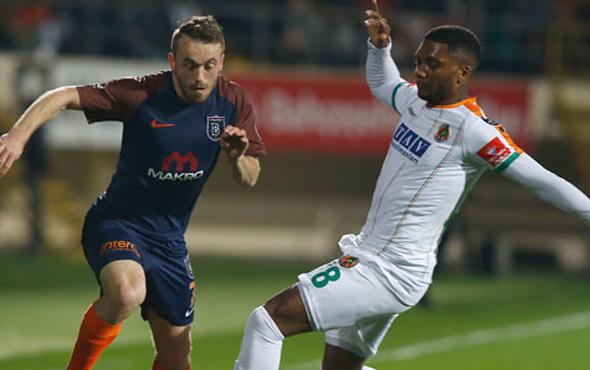 Alanyaspor Başakşehir maçı geniş özeti ve golleri