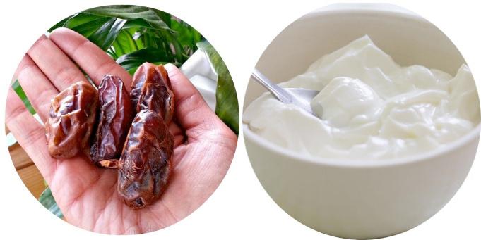 Hurma yoğurt diyeti haftada 7 kilo verdiriyor göbeği eritiyor