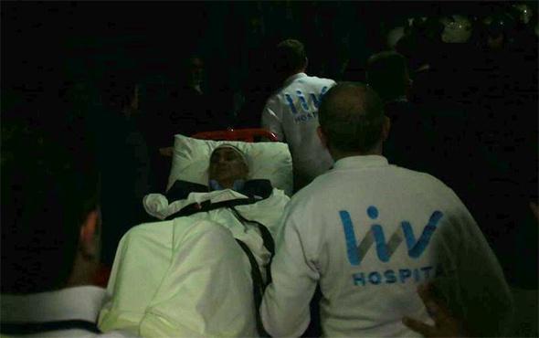 Şenol Güneş ambulansla hastaneye kaldırıldı!