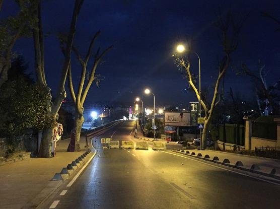 Kadıköy girişindeki arterde çalışmalar başladı: Bir yıl kapalı