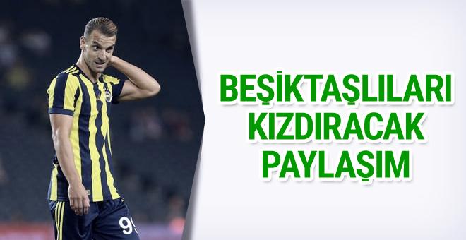Soldado'dan Beşiktaşlıları kızdıracak paylaşım