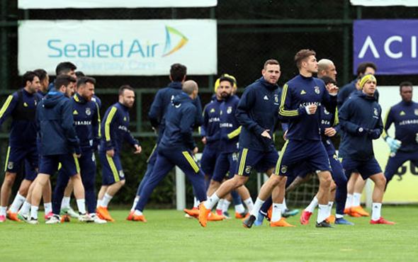 Fenerbahçe Antalyaspor maçı hazırlıklarına başladı