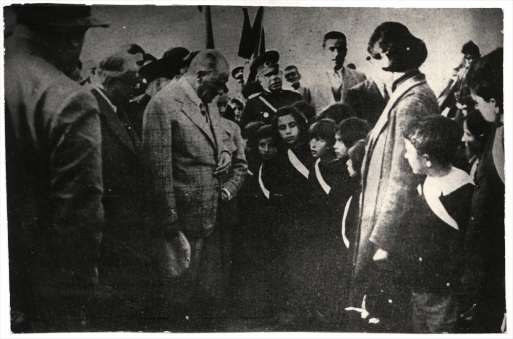 Atatürk'ün hiç görülmemiş fotoğraflarıyla 23 Nisan Çocuk Bayramı