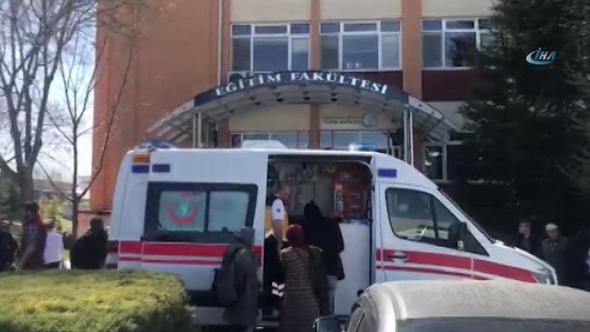 Eskişehir Üniversitesi'nde 4 öğretim görevlisi öldürüldü ilk görüntüler